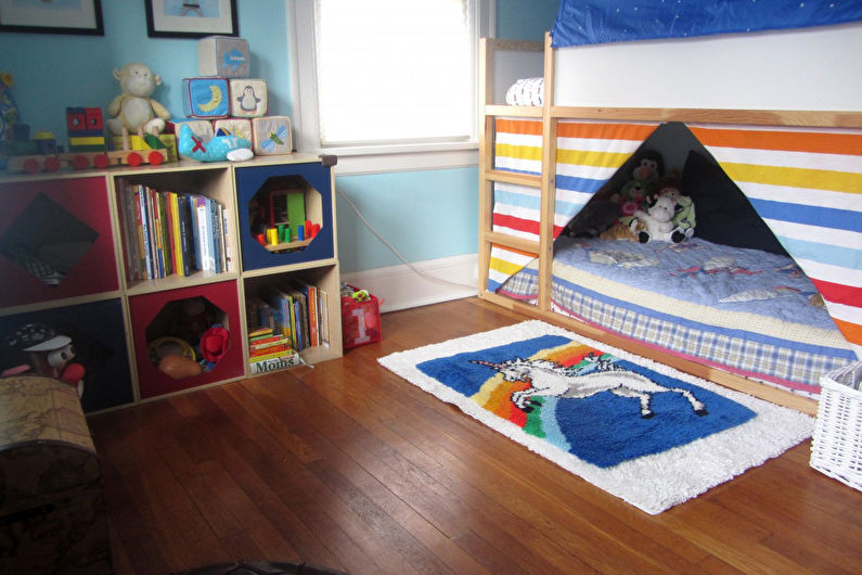 фото оформления детской комнаты