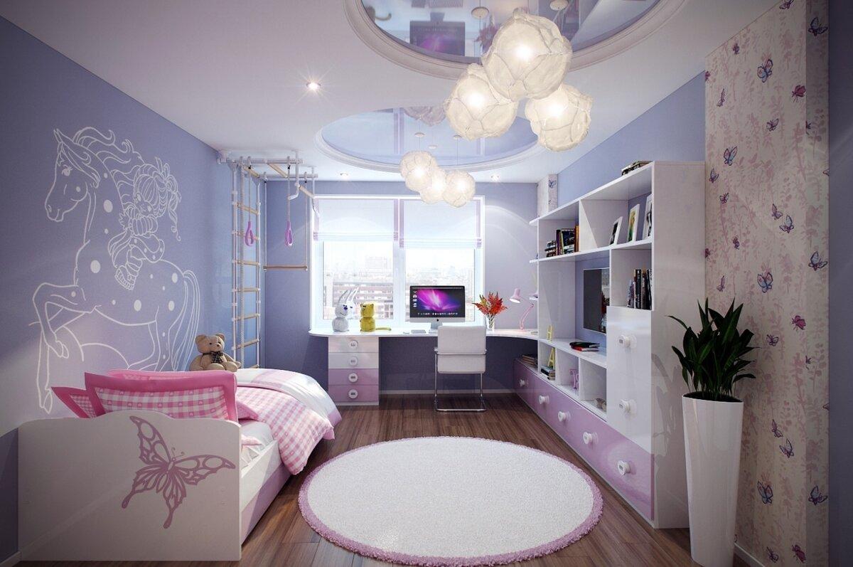дизайн детской комнаты идеи фото