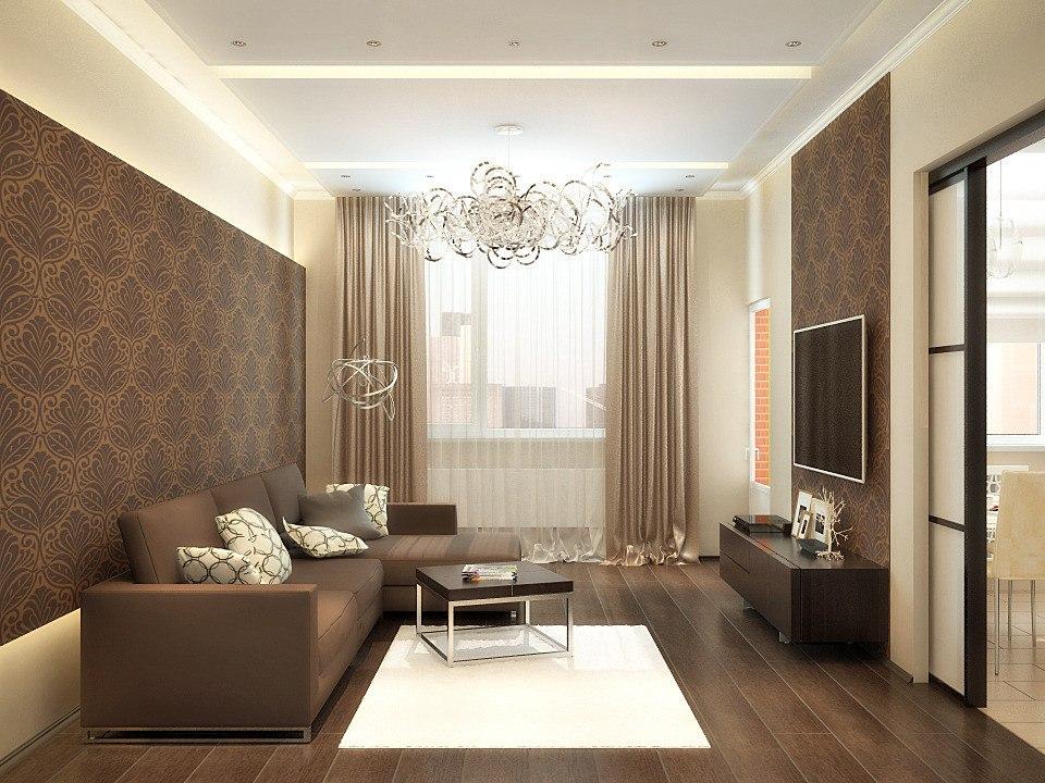 дизайн гостиной комнаты 17 кв м