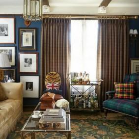 современная гостиная в квартире фото видов
