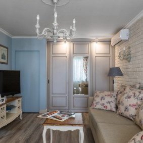 отделка стен в квартире интерьер фото