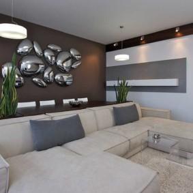 отделка стен в квартире дизайн идеи