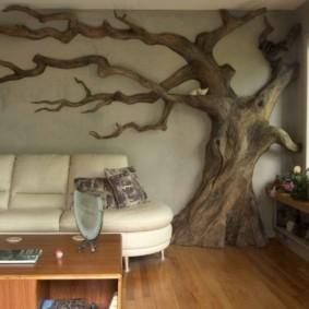 отделка стен в квартире дизайн фото