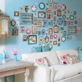 отделка стен в квартире дизайн