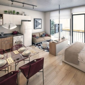 дизайн малогабаритной квартиры фото идеи