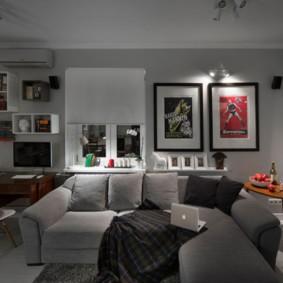 дизайн малогабаритной квартиры идеи дизайн