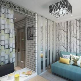 дизайн малогабаритной квартиры фото интерьера