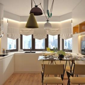 дизайн квартиры распашонки идеи виды