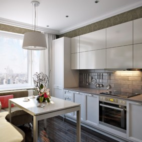 дизайн квартиры распашонки обзор