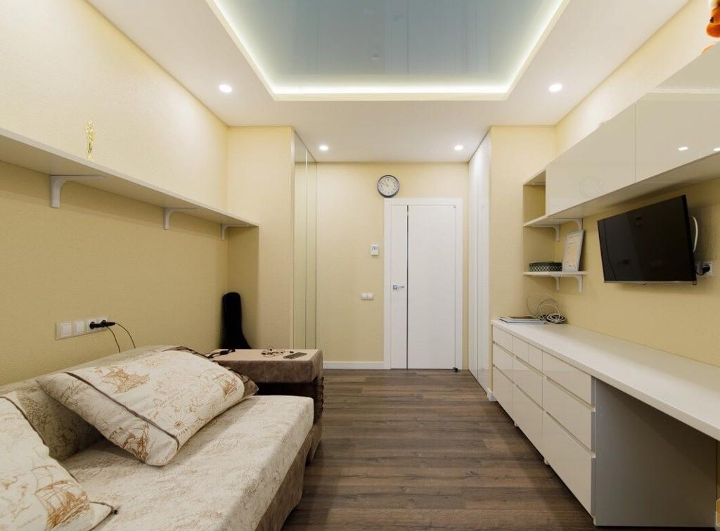 Дизайн потолка из гипсокартона фото низких комнат довольно популярным