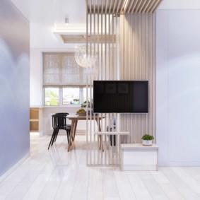 дизайн квартиры распашонки варианты фото