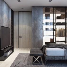 дизайн квартиры распашонки виды интерьера