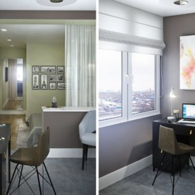 дизайн квартиры распашонки виды оформления
