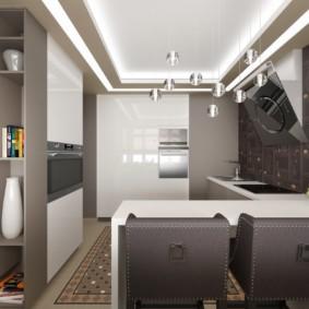 дизайн квартиры распашонки идеи