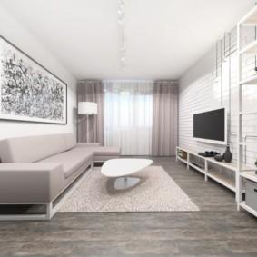 дизайн квартиры распашонки фото идеи