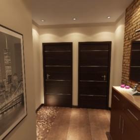 дизайн квартиры распашонки фото варианты