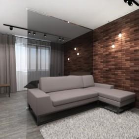 дизайн квартиры распашонки идеи декор