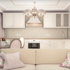 дизайн квартиры распашонки интерьер фото