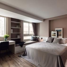 дизайн квартиры распашонки идеи интерьер