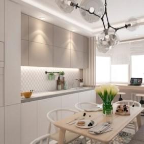 дизайн квартиры распашонки оформление