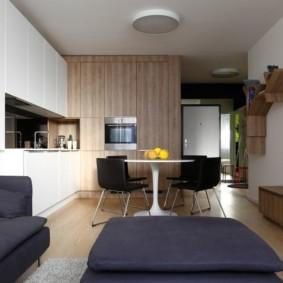дизайн квартиры распашонки оформление идеи