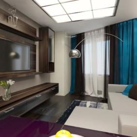 дизайн квартиры распашонки идеи оформление