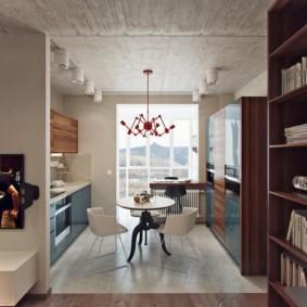 дизайн квартиры распашонки варианты идеи