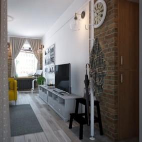 дизайн квартиры распашонки идеи вариантов