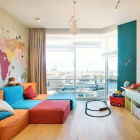 однокомнатная квартира для семьи с ребенком виды