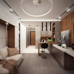 дизайн малогабаритной квартиры идеи интерьер