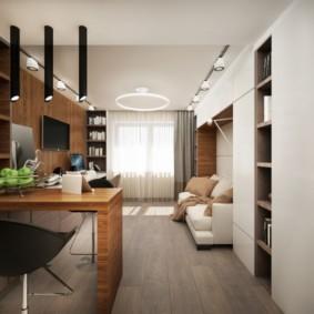 дизайн малогабаритной квартиры идеи интерьера