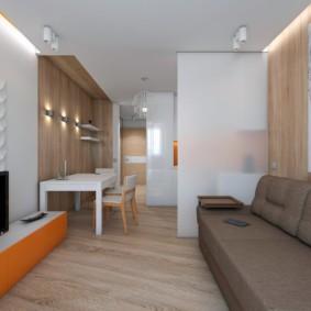 квартира студия площадью 28 кв м