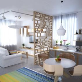 квартира студия площадью 28 кв м дизайн идеи