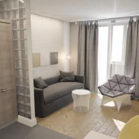 квартира студия площадью 28 кв м идеи дизайн