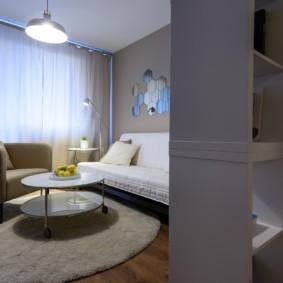 квартира студия площадью 28 кв м идеи дизайна