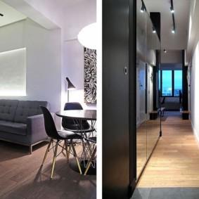 квартира студия площадью 28 кв м идеи оформление