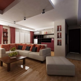 квартира студия площадью 28 кв м варианты идеи