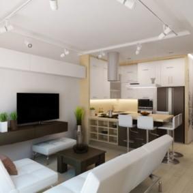 квартира студия площадью 28 кв м обзор