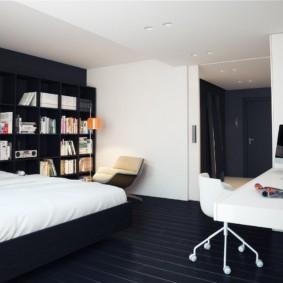 дизайн квартиры в стиле минимализм варианты