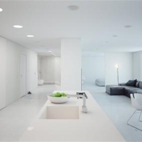 дизайн квартиры в стиле минимализм идеи