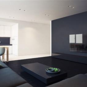 дизайн квартиры в стиле минимализм идеи оформления