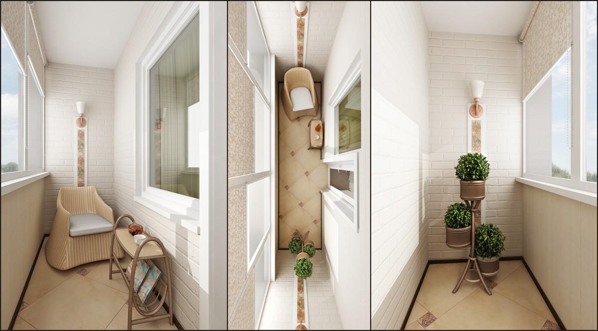 дизайн балкона фото идеи