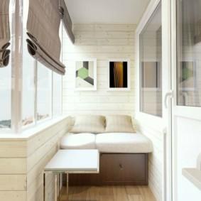дизайн балкона обзор