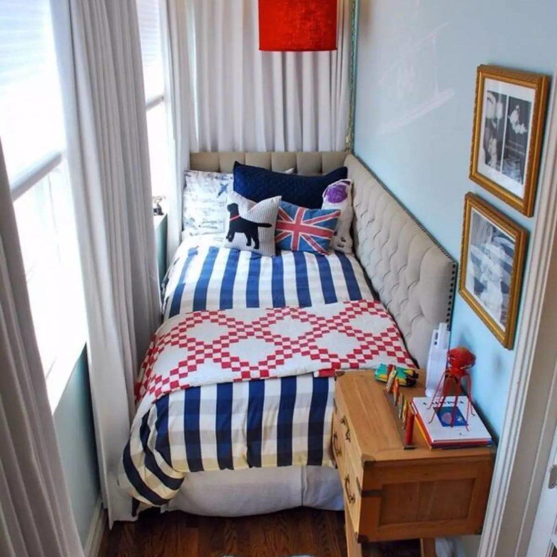дизайн маленького балкона спальня для подростка