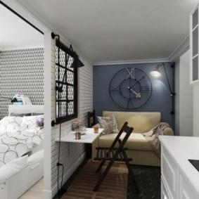 дизайн малогабаритной квартиры оформление фото