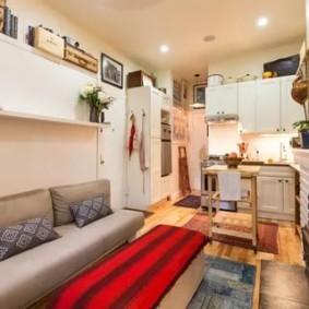 дизайн малогабаритной квартиры идеи декор