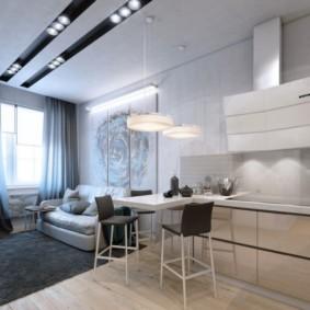 дизайн малогабаритной квартиры оформление идеи