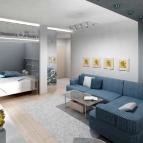 однокомнатная квартира для семьи с ребенком обзор