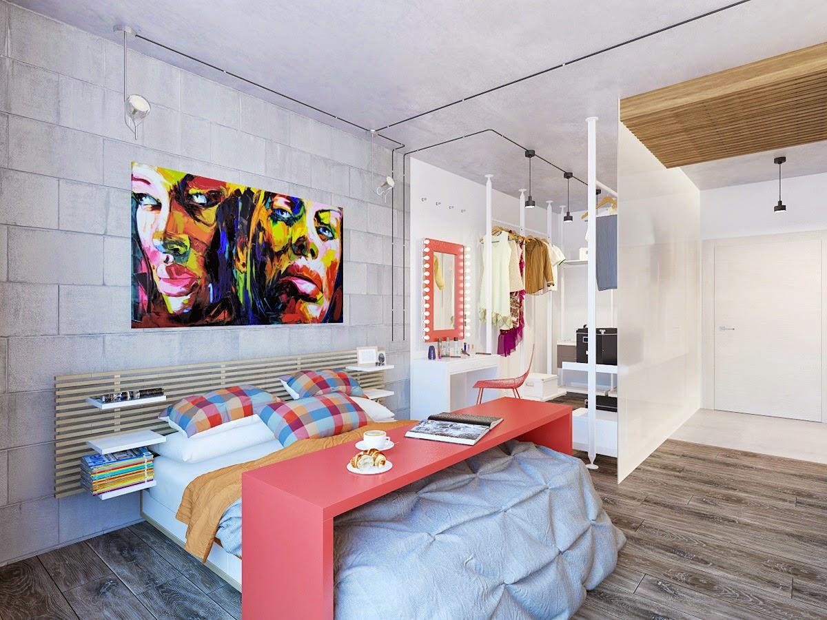 дизайн спальни для девушки декор