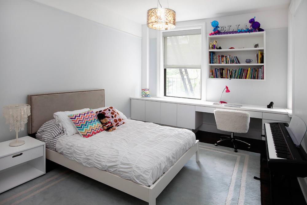дизайн спальни для девушки мебель